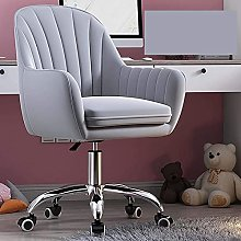 JYHQ Ergonomic Desk Chair,Modern Velvet Office