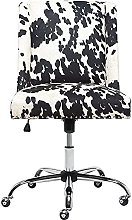 JYHQ Office Chair, Velvet Office Computer Chair,