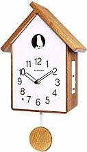 JYING Birdhouse Cuckoo Clock, Cuckoo Pendulum Wall