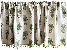 JYING Fashionable Short Curtain for Kitchen Cafe