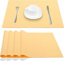 JYKJ Silicone Place Mats Table Placemats, Extra