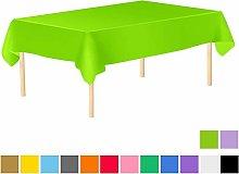 JYMTOM Plastic Rectangle Table Cloths Tablecloths