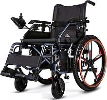 jz Aluminum Electric Wheelchair Medical Heavy Duty