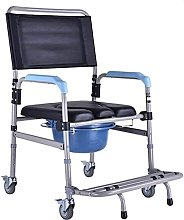 jz Aluminum Shower Chair, Medical 3 in 1 Foldable