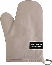 JZ Baking Oven Mitts Polyester Cotton Heat