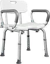 jz Medical Padded Seat Transfer Bench, White