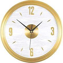 JZDH Decoration Wall Clock Wall Clock Light Luxury