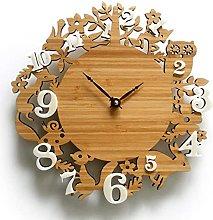 JZDH Wall Clock Modernwall Clock Rural Garden