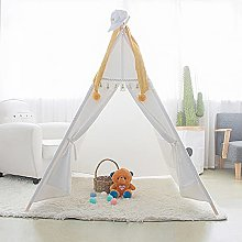 JZJZ Kids Play Tent Pop up for Todders with tassel