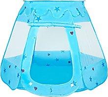 JZJZ Pop Up Princess Tent, Ball Pit Kids Play Tent