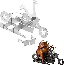 JZJZ Portable Chicken Stand, Motorcycle Beer Can
