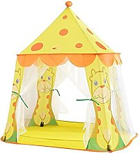 JZJZ Teepee Tent for Kids Foldable Play Tent,