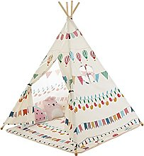 JZJZ Teepee Tent for Kids Playhouse, Natural