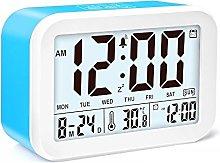 JZK Digital talking alarm clock with temperature