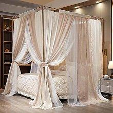 JZUO Tent Mosquito-Net Home-Decoration Linen