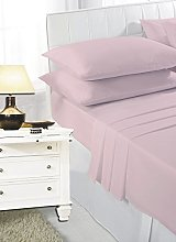 K Collection Percale Easy Care Polycotton Fitted