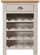K-Interiors Fontana Ready Assembled Wine Cabinet