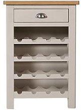 K-Interiors Fontana Ready Assembled Wine Cabinet