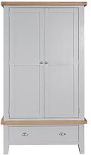 K-Interiors Harrow Part Assembled 2 Drawer, 2 Door