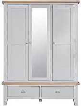 K-Interiors Harrow Part Assembled 3 Door, 2 Drawer
