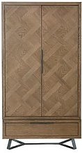 K-Interiors Regis 2 Door, 1 Drawer Wardrobe