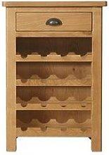 K-Interiors Shelton Ready Assembled Wine Cabinet