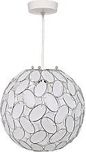 K LIVING Hanging Ball Pendant Shade Non Electrical