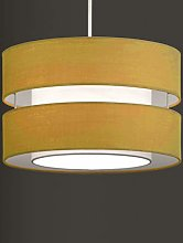 K LIVING Layer Fabric Ceiling Pendant Light Shade