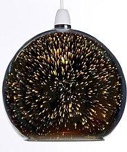 K LIVING Zodiac Chrome Glass Non Electrical