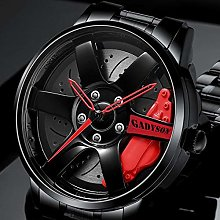 K-ONE Men Car Wheel Watch Fashion Sports Watch