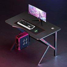 K-shaped Gaming Desk,Ergonomic Computer Desk with