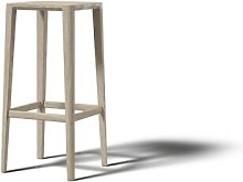 Ka 80cm Bar Stool JAVORINA Colour: White