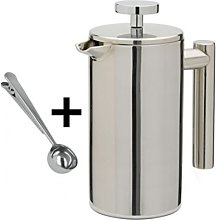 Kabalo Stainless Steel Double Wall Cafetiere