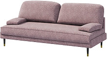 Kachave - Modern Sofa Bed with Pink Easy Clean