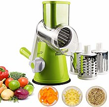 Kacniohen Rotary Cheese Grater Manual Vegetable