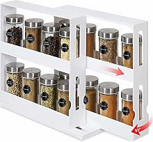 Kacoco Newly Upgraded Rotating Spice Rack,