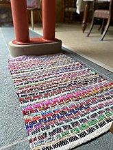 Kadam Medium Multi Colour Rag Rug Woven with Multi