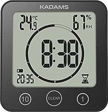 KADAMS Digital Bathroom Shower Kitchen Clock Timer