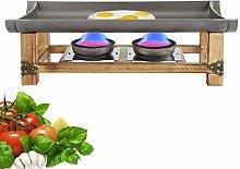 Kadimendium Energy Saving BBQ Grill Aluminum and
