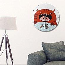 Kadimendium Retro Wall Clock for Living Room(Type