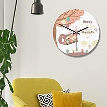 Kadimendium Wall Clock Easy to Install for Home