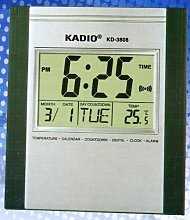 Kadio Digital Jumbo Wall Mount & Table Temperature
