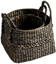 Kagu Interiors - Set of 2 Hyacinth Basket with