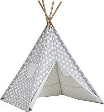 Kaikoo Kids Play Silver Teepee Tent