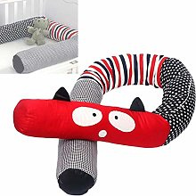 KAIKUN Baby Cot Bumper Cartoon Bed Bumpers Soft