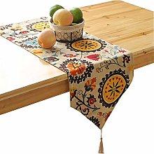 KAILUN Table Runner, Striped Table Runner Cloth