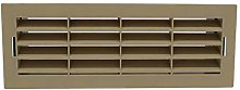 Kair Beige Airbrick Grille with Surround for 204mm