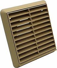 Kair Beige Louvred Grille 155mm External Dimension