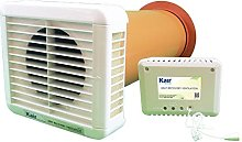 Kair Heat Recovery Silent Extractor Fan with