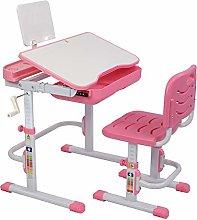 KAISAN Children's Study Desk Chair Set,